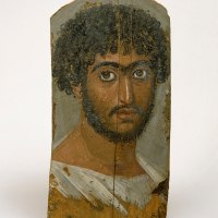 Fayum Mummy Portrait of a Bearded Man