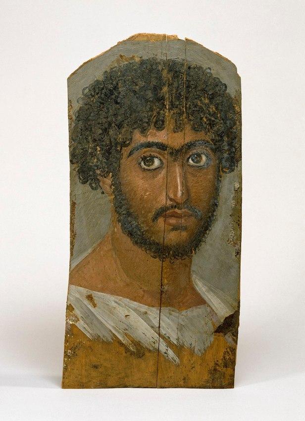 Egyptian - Mummy Portrait of a Bearded Man - Walters Art Museum
