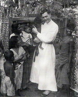 English: , American Jesuit missionary who disa...