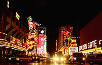 Fremont Street in Las Vegas, Nevada, United States