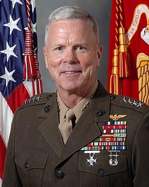 General James F. Amos, USMC 31st Assistant Com...