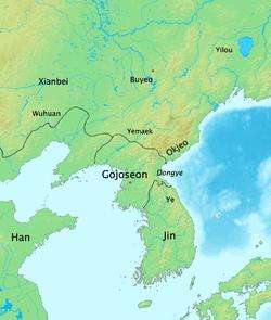 Lokasi Gojoseon