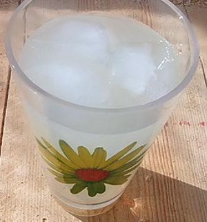 How much for a glass of lemonade?