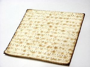 Matzah: unleavened bread