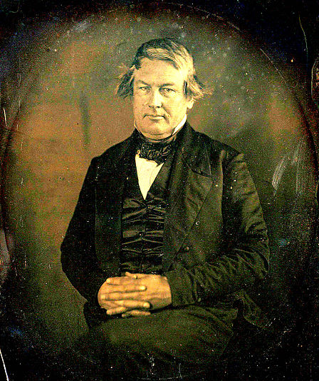 Millard Fillmore in March, 1849, daguerreotype by Matthew Brady - Wikipedia image