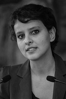 Najat Vallaud-Belkacem en juin 2013.