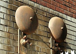 Old fire alarm bells, Belfast (2)