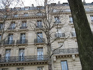 An apartment building in Paris