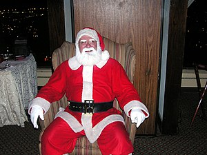 """""""Father Christmas"""" is often synonymo..."""