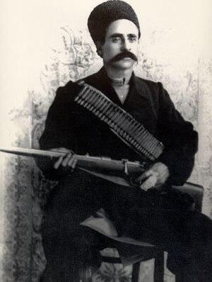 Sattar Khan, a famous azerbaijani-irani revolu...