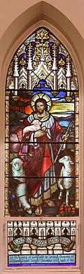 StJohnsAshfield StainedGlass Shepherd