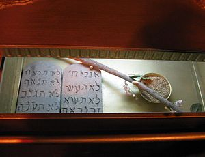 A look inside the Ark of the Covenant, in a fu...