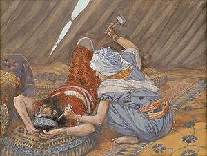 English: Jael Smote Sisera, and Slew Him, circ...