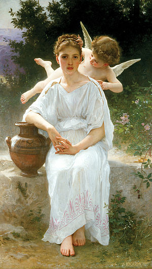 William-Adolphe Bouguereau (1825-1905) - Whisp...