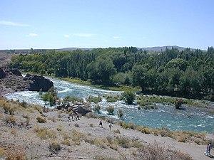 Atuel River, Mendoza Province, Argentina.