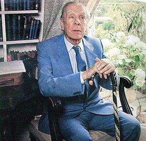 Argentine writer Jorge Luis Borges.
