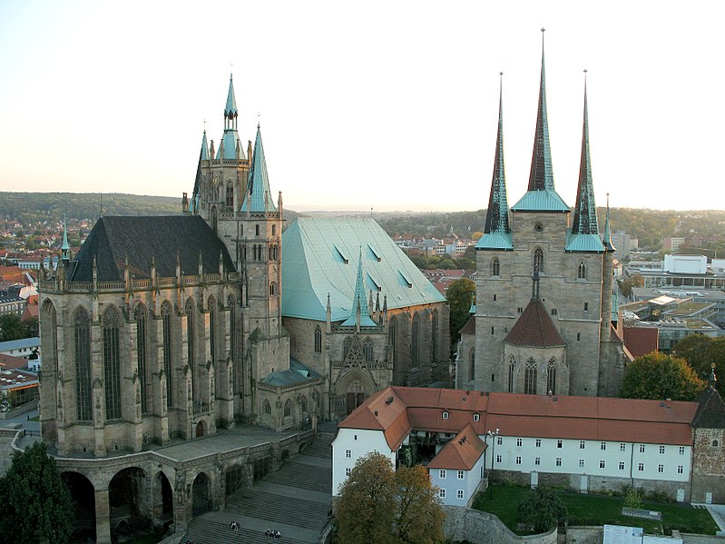 Erfurt is the capital city of Thuringia