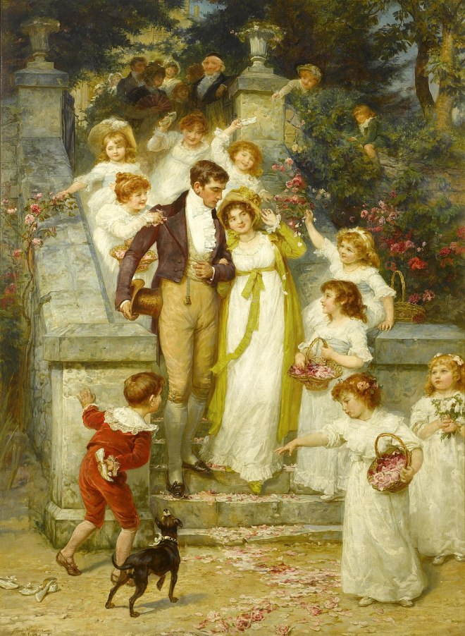Frederick Morgan - Off for the Honeymoon
