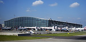 London Heathrow, Terminal 5, London, England