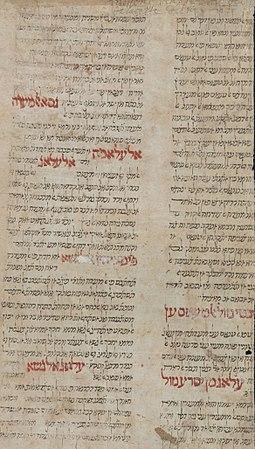 la traducción original de Ibn Tibon