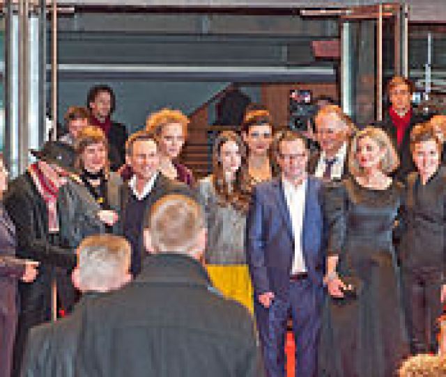 Cast And Crew At The Premiere Of The Film Nymphomaniac At The 2014 Berlin Film Festival