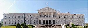 The Palace of São Bento, Lisbon, house of the ...