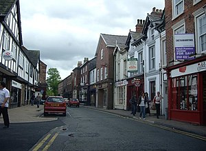 English: Princess Street, Knutsford