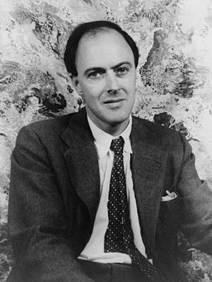 Portrait of Roald Dahl