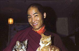 English: The monk Samten who came to Samye Lin...