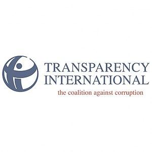 English: Transparency International logo