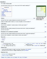 Wikipedia:Manual of Style/Layout - Wikipedia