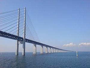 The Öresund Bridge from underneath