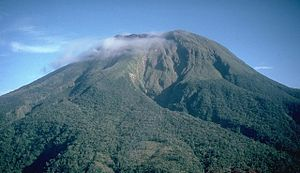 English: A dormant Mt. Bulusan