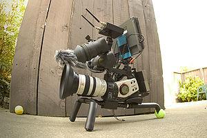 Canon XL2 video camera