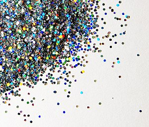 Photo of Glitter Particles