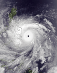 Typhoon Haiyan (Yolanda) approaching the Philippines (Nov 3-11, 2013)