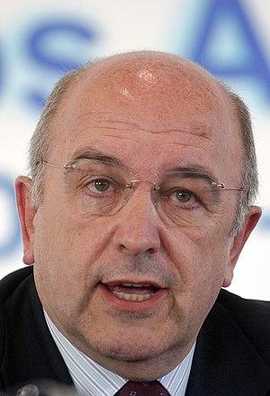 Joaquin Almunia, member of the European Commis...