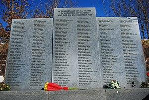 Lockerbie disaster memorial (Lockerbie cemetery)