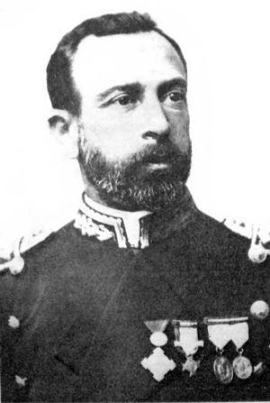 Español: Comodoro Martín Rivadavia, primer Min...