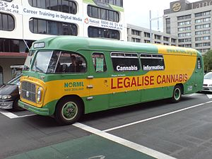 'Mary Jane the Cannabus', the vehicle of a NOR...