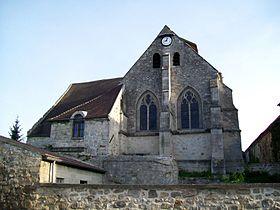 ormoy villers église GR11