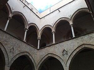 Palazzo Steri Chiaromonte Palermo, courtyard