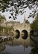 Pulteney Bridge, Bath, UK. Français : Pont Pul...