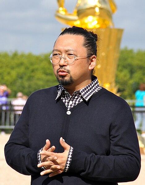 File:Takashi Murakami at Versailles Sept. 2010 (crop).jpg