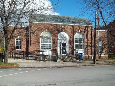 This building helps encapsulate the Fredonia community that makes use of the library