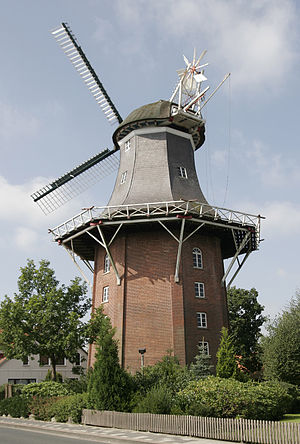 English: Windmill of Varel (Germany) Deutsch: ...