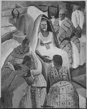 """""""Christ in the Manger"""" - NARA - 558929"""