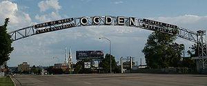 """""""Ogden"""" sign in Ogden, Utah. This pi..."""
