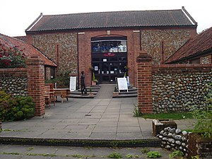 English: Photo of the craft centre at Erpingha...