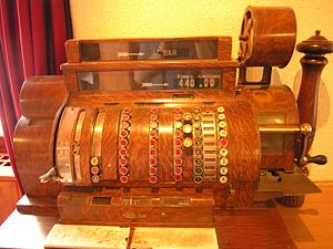 "Cash register ""National""."